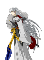 Sessh (Lady Rin and Lord Sesshomaru, Together...) by inu-sessh-rin