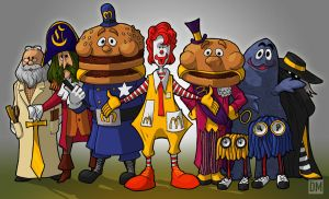 McDonald Land Gang by DanielMead