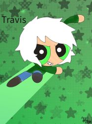 Travis to the Rescue!! by Kiritost