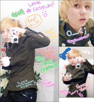 LAME TWEEK COSPLAY XD by Synned