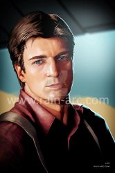 Captain Malcolm Reynolds from Firefly by LorBot