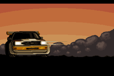 Audi Quattro Revisited by Rhopunzel