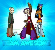 TEAM AWESOME by HeatherBomb