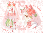 strawberry roses adoptable [CLOSED] by k-a-t-s-u-n-e