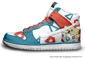 Togepi Nike Dunks