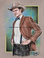 11th Doctor Stetsons are cool by scotty309