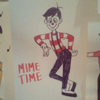 The Mime by 17cherry