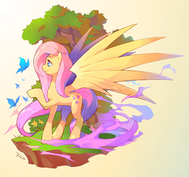 Fluttershy by Tomycase