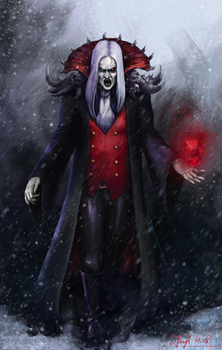 Dracula - The vampire lord by SimonGangl