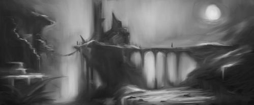 Lunchtime Landscape - One Layer 01 by ravens-raziel