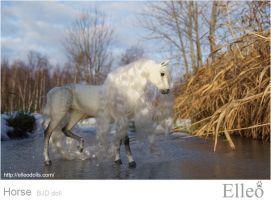 Horse bjd doll 04 by leo3dmodels