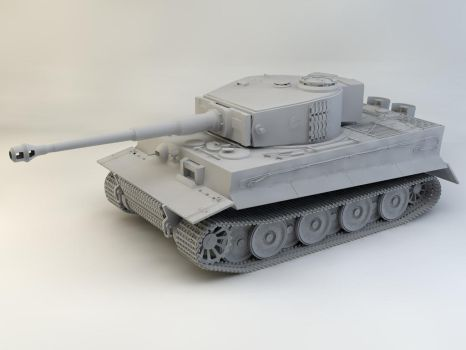 Tiger Tank 1 by therealghostclown