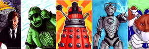 Doctor Who Art Cards 01 by TwinEnigma