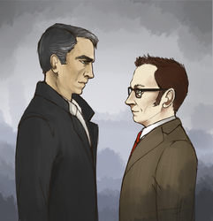 Mr Reese and Finch by Zsoszy
