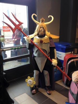 Asgore cosplay Final by SweBJ