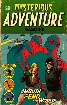 Mysterious Adventure Magazine by MattKaufenberg