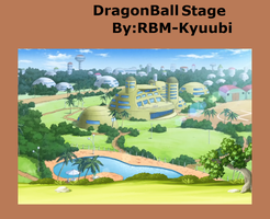 Dragon ball paradise Stage by RBM-Kyuubi