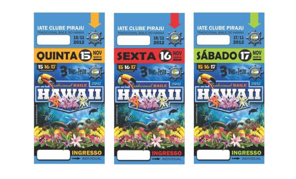 Ingressos HAWAII 2012 by battiston