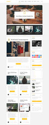 Wellow Clean Personal Blogging Theme by begha