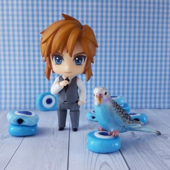Link and bluebird. (Nendoroid Photography) by ng9