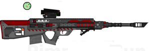 DII-EI MR-23 'Crossbow' Marksman Rifle by Lord-DracoDraconis