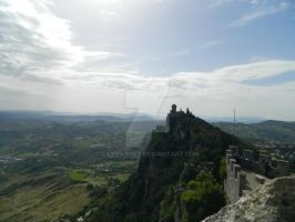 San Marino tower by laydiKroft