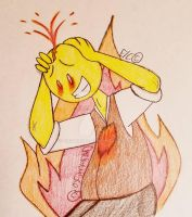 Mr. Goretober Day 13) Emotional volcano  by Chickie456
