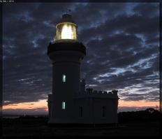Point Perpendicular Lighthouse - Night 4 by JohnK222