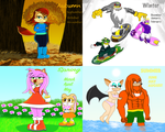 Sonic Season Collage (Entry) by dwaters220