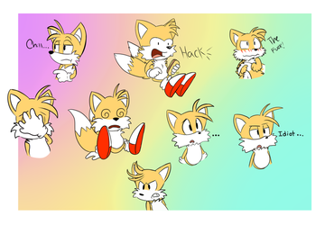 Tails Expressions by Amare-Fide