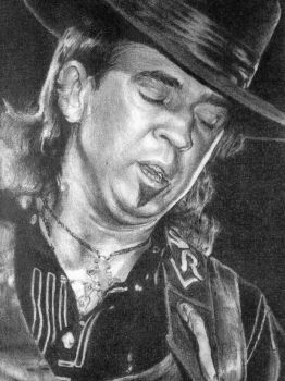 Stevie Ray Vaughan by SeizeTheJay