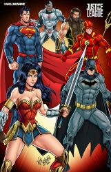 Justice League by WillNoName
