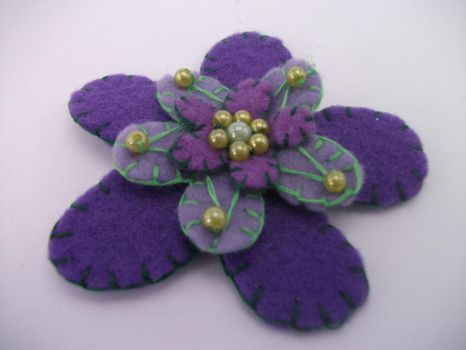 Flor Lila by K-rolaDC