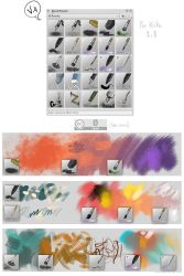 Krita brushes, v4 by Deevad
