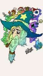 Mike the Stoned Wizard | Colored by LordBerry