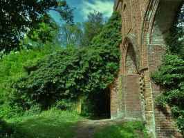 Ruins HDR by mrscats
