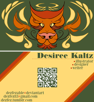 2013 Business Card Design by Dezfezable
