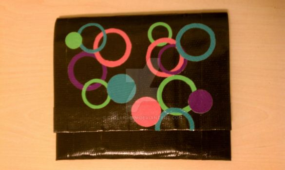 Duct Tape Clutch 5 by ChelliChan