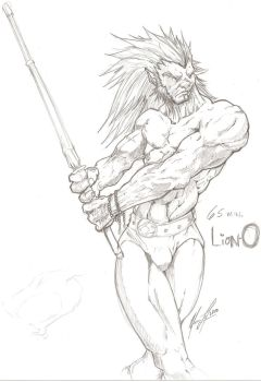 65 minute Lion-O by MeaT-Artworx