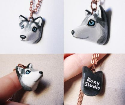 Dog Pendant by Roxo89