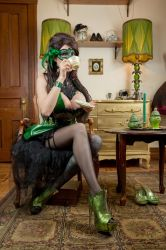 Moulin Vert by Ariane-Saint-Amour