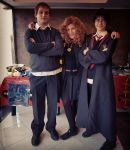 The Golden Trio - Ronald Weasley Cosplay by Xpyro90