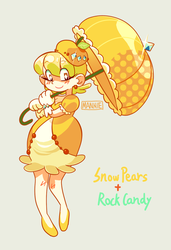 Snow Pear n' Rock Candy by Mannievelous