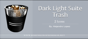 Dark Light Suite Trash by BlueMalboro