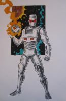 ROM Spaceknight by dannphillips