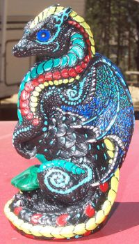 Windstone PYO Medicine Dragon by wiyaneth