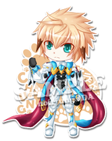 [Elsword] Chung Deadly Chaser SD.ver by noirjung