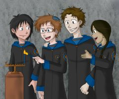 Ravenclaw Chanukah by demonoflight