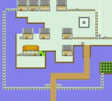Vermilion City in Pokemon Yellow for GBC by CK47