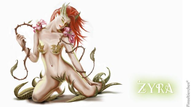 Zyra Pin-up by Pinseltierchen